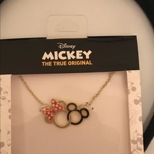 Minnie and Mickey 90 anniversary new necklace! FAB